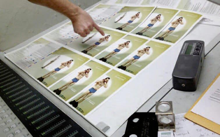 Printmedien Druckabnahmen Druckerei