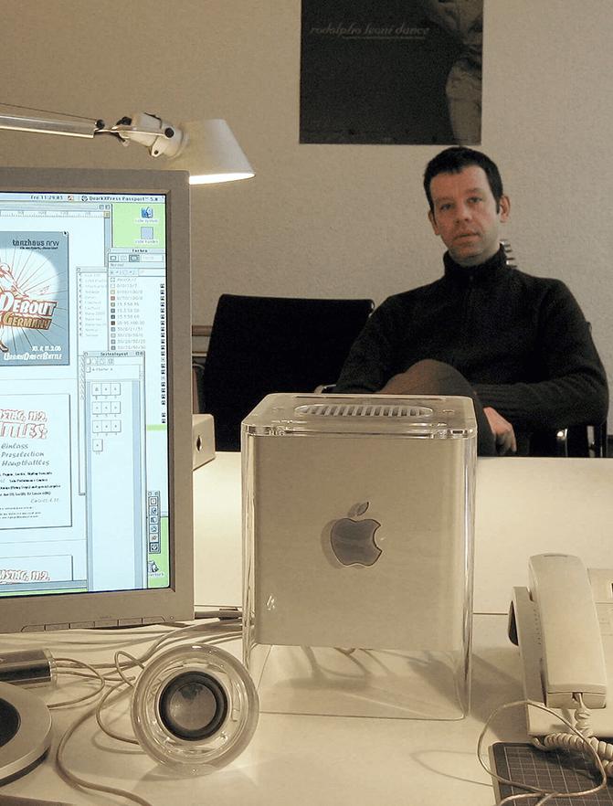 tanzhaus nrw Gestaltung Cube Mac Eberhard