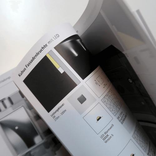 ERCO Kataloggestaltung