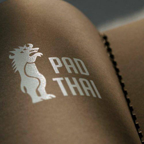 PAD-THAI Speisekarte Logo Thailänder Wuppertal